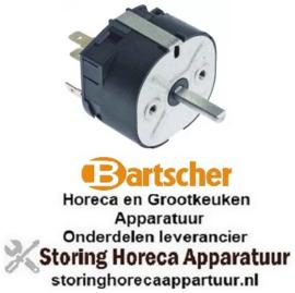663350187 - Tijdschakelaar looptijd 60 min 250 Volt voor BARTSCHER