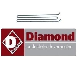 235RTCU700278 - Verwarmingselement bakplaat  DIAMOND E77/PL4T-N