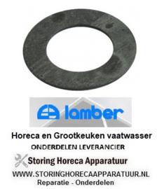 1270201524 - Vlakpakking rubber vaatwasser LAMBER L20