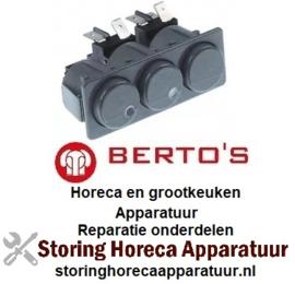 263346365 - Schakelaarcombinatie voor BERTOS
