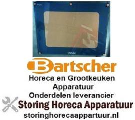 841A0YXD1A26 - Deurglas L 577mm B 448mm buiten dikte 5mm voor oven BARTSCHER