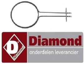925. 665.008.00 - Verwarmingselement voor oven fornuis DIAMOND E65/4PFV7