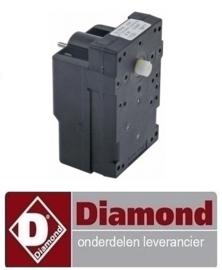407RG000636 - Tandwielmotor DIAMOND IJSBLOKJESMACHINE MXP-35A/F