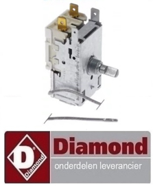 8721022600019 - Thermostaat capillaire 1200 mm DIAMOND DRINK-38/T