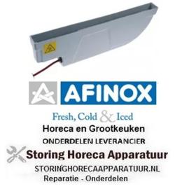 117750355 - Lekbak verwarmd L 485mm B 42mm H 154mm 110-260V AFINOX