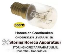 322357153  - Gloeilamp t.max. 300°C -25W - 230V  OVEN LAMP