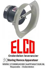 32560.2030 - Ventilator ventilatorblad ø 100mm 230V 50-60Hz 10W 2500U/min aansluiting Faston zonder ventilatorblad