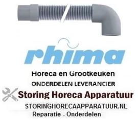 84550600009 - Afvoerslang 1500 mm breektank DR (920mm) RHIMA DR50