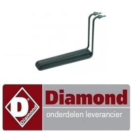 835665.028.00  -  VERWARMINGS ELEMENT FRITEUSE 2500W-230V DIAMOND E65/F10-4T