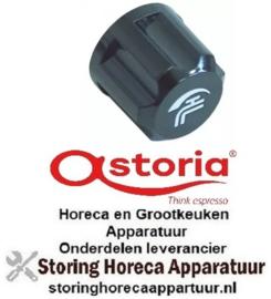 308111152 - Knop water ø 40 mm zwart koffie machine ASTORIA