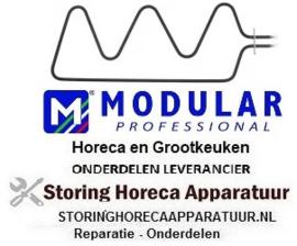 344420111 - Verwarmingselement 1500 Watt -  230 Volt voor oven MODULAR