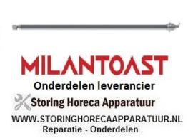 266420512 - Verwarmingselement 465W 115V L 355mm element voor salamanders en toasters MILAN TOAST