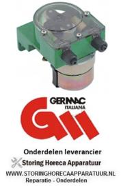 6743.615.17 - Doseerapparaat GERMAC frequentieregeling 5,5l/h 230 VAC wasmiddel slang ø 4x6mm slang thermoplast