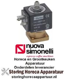 263370238 - Magneetventiel koper 3-weg koffietechniek NuovaSimonelli