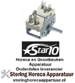 VE963300200 - Nokkenschakelaar 2-standen (0 - 1=35-318ºC) 2-polig STAR-10