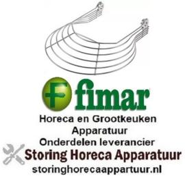 597696669 - Deksel ø 275mm 7 S voor menger FIMAR