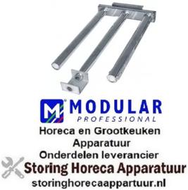 855104173 - Staafbrander 3 rijen L 507mm B 240mm H 50mm grillplaat MODULAR