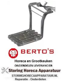 728420618 - Verwarmingselement 9000W 230V voor Bertos Friteuse