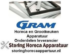 287900549 - Koelladenrubber  B 160mm L 395mm steekmaat voor GRAM