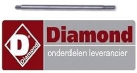 DIA096IB2080712 - Stanggreep L 160mm ø 10mm voor IJscrusher DIAMOND