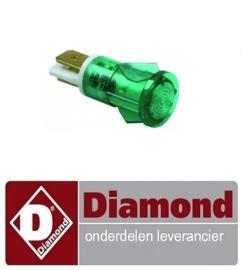 580A08009 - Signaal lampje groen DIAMOND DIAMOND CONTACT SM1/SS