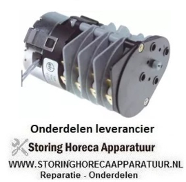 917360525 - Timer CDC 11904 motoren 1 kamers 4 looptijd 10min 230V fabrikant nr. 11904F1 / BCR000.0000