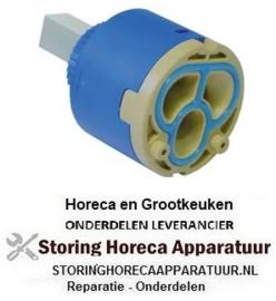 142540452 - Binnenwerk mengkraan 1-handel keramische cartouche D1 ø 40mm D2 ø 25,5mm