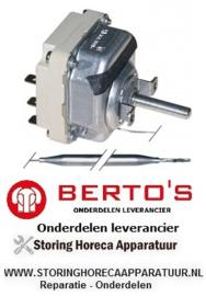 03822062600 - Thermostaat t.max. 300°C elektrische bakplaat BERTOS E6FL3B-P