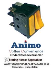 0330.25.67 - Wipschakelaar oranje/oranje koffiemachine ANIMO A100W