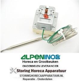VE423390064 - Maximaalthermostaat uitschakeltemp 220°C 3-polig voeler 133/Ø6mm capillair 1890/700mm ALPENINOX