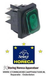 791205426 - Wipschakelaar groen HORECA-SELECT GJU 1001