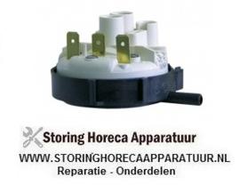 003103380 - Pressostaat drukbereik 55/35mbar aansluiting 6mm ø 58mm drukaansluiting horizontaal spoeltechniek
