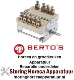 136300264 - Nokkenschakelaar 7 schakelstanden voor BERTOS