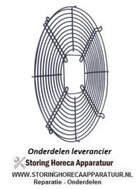 645601584 - Rooster voor ventilatorblad ø 300 mm H 17 mm bevestigingsafstand 1 344 mm