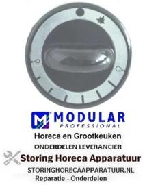 541110688 - Knop gasthermostaat ø 62mm as ø 8x6,5mm MODULAR