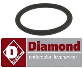 240510072 - O-ring overlooppijp vaatwasser DIAMOND D26EKS-NP