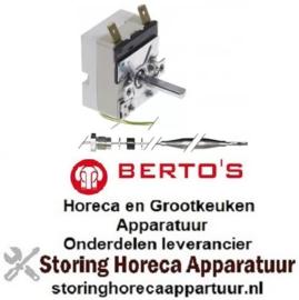 VE394375401 - Thermostaat instelbereik 97-185°C 1-polig voor BERTOS