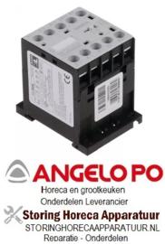 361380704 - Relais AC1 20A 230VAC (AC3/400V) voor Angelo Po