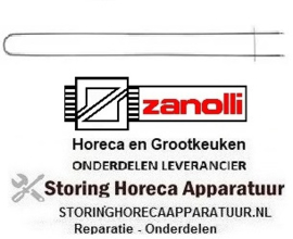 444420176 - Verwarmingselement 800W 230V L 1040mm B 98mm ZANOLLI