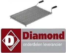 083.256.021.00 - Grill oplegrooster voor lavasteengrill DIAMOND