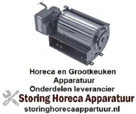 228601641 - Dwarsstroomventilator rol ø 60mm wals L 120mm gelamineerde kerndikte 15mm