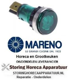 370359027 - Signaallamp ø 12mm 250V groen voor apparatuur MARENO