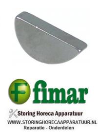 226SL0043 - Gleuvensteen voor as deegmenger FIMAR