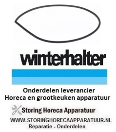 135524416 - Pompdeksel pakking materiaaldikte 4x4 mm WINTERHALTER
