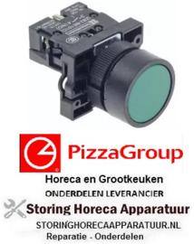 4378301060 - Drukschakelaar tastend inbouwmaat ø22mm 1NO PIZZA-GROUP