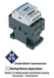 736380820 - Relais AC1 25A 230VAC (AC3/400V) 9A/4kW hoofdcontact 3NO hulpcontact 1NO/1NC MKN