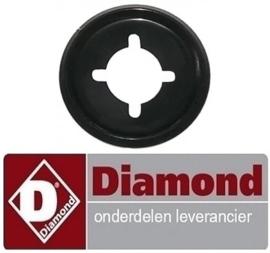 267402595000 - Rozet knop tot ø 45mm DIAMOND