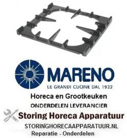 1011316622 - Branderrooster gasfornuis B 350mm L 400mm inbouwpositie achter voor serie MARENO 900