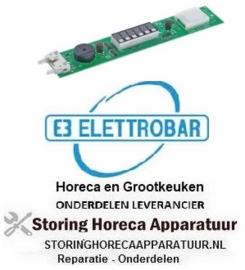804403270 - Bedieningsprintplaat voor vaatwasser met scherm knoppen 3 ELETTROBAR