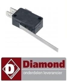773.761.004.00 - Microschakelaar met hendel 250V 10A  DIAMOND E65/F